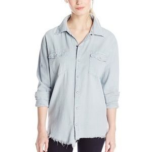 Tops - One Teaspoon Liberty Shirt In Alpine